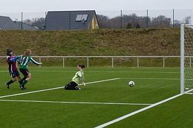 Frauenfußball mit Antonia