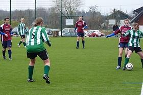 Frauenfußball mit Celine