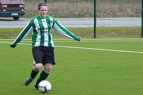 Frauenfußball mit Ricarda