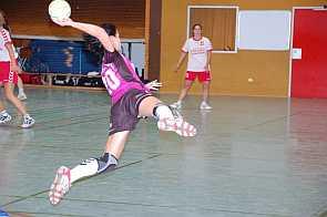 Spielszene 1. Handballfrauen