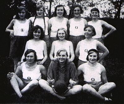 Damenhandball 1930
