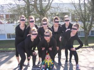 Mikados beim Lippe Dance Cup 2011