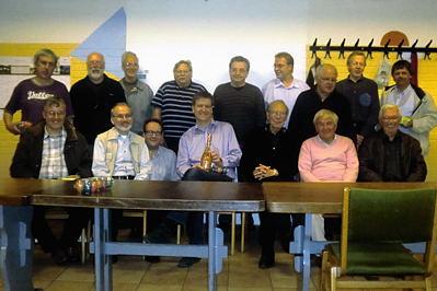 Teilnehmer am Osterblitzturnier