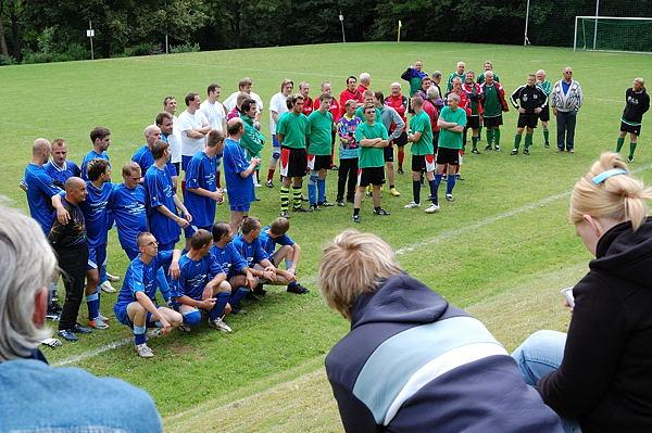 Die Teilnehmer, es fehlt noch die Uni-Bielefeld