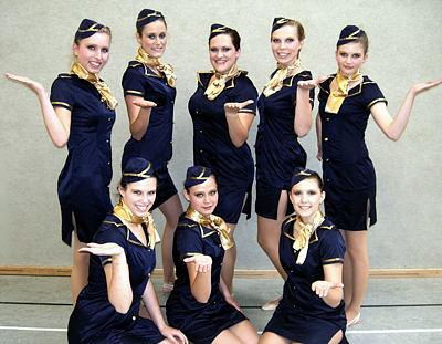 """Bailandos mit """"Stewardessen"""""""