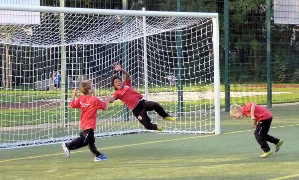 FC Augsburg - eindrucksvoll im Training