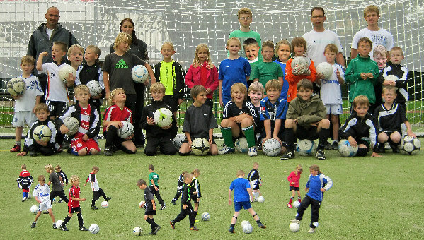 F-Jugend Gruppenfoto 2011