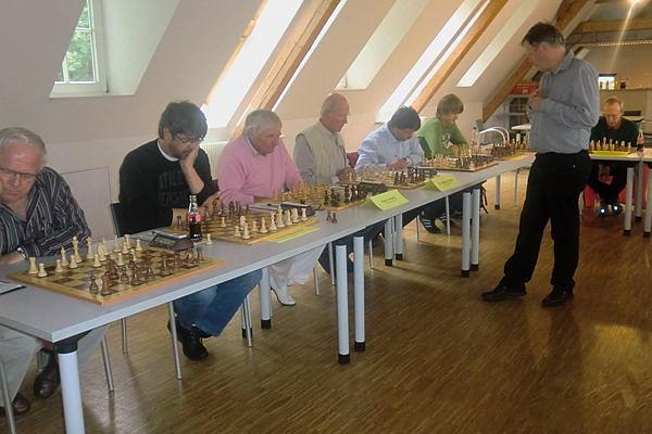 Schachmeister Werner Beckermeier