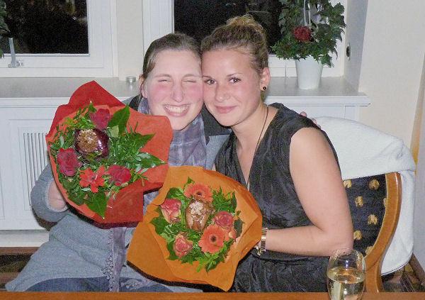 Kathrin und Ani