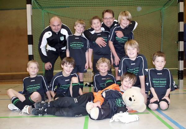F-Jugend Team vom 08.01.2012