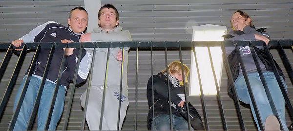 Tommi, Mirko, Janine und Kathrin analysieren