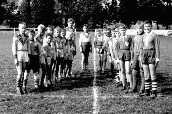 mit: Spielführer Hagemeier, Heise, Tiemann, ... Grimm, Heinerich