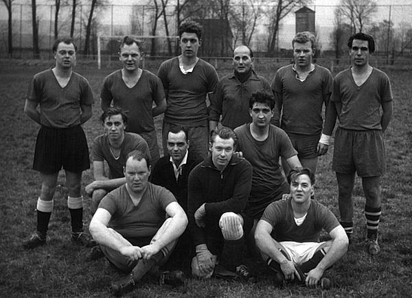 Betriebsmannschaft der Lippischen Eisenindustrie  ca. 1962