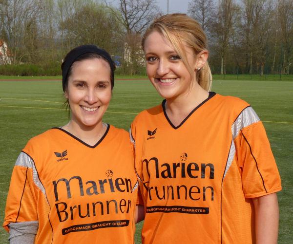 Frauenteam mit Verstärkung - Herzlich willkommen Maya und Jackie