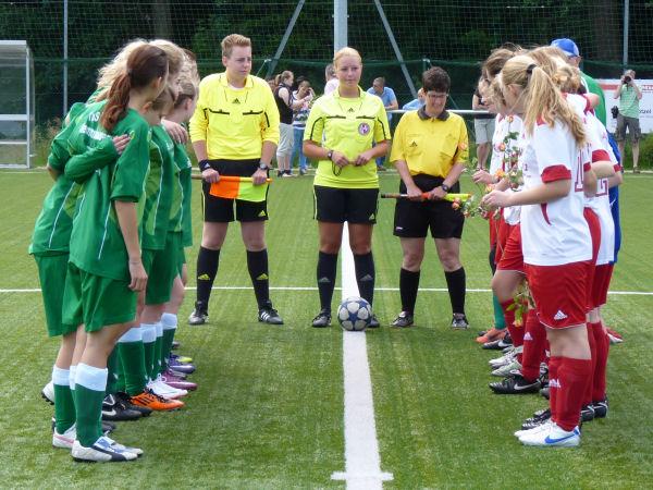 Aufstellung zum Saisonfinale in Asemissen