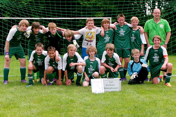 Meister 2012: TuS D-Jugend (Gruppe B)