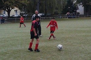 Spielszene E1-Jugend
