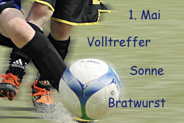 Fussball-Jugendturniere am 1. Mai von 9:00 Uhr -17:00 Uhr in Remmighausen