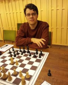 Ralf Stukemeier, Sieger des Osterblitzturniers 2013
