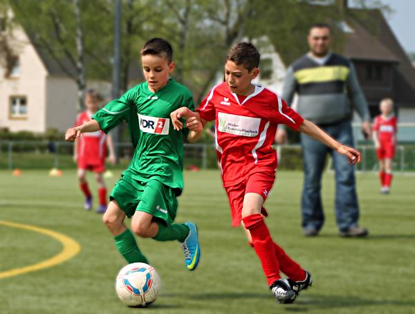 Spielszene aus dem Heimspiel gegen Augustdorf