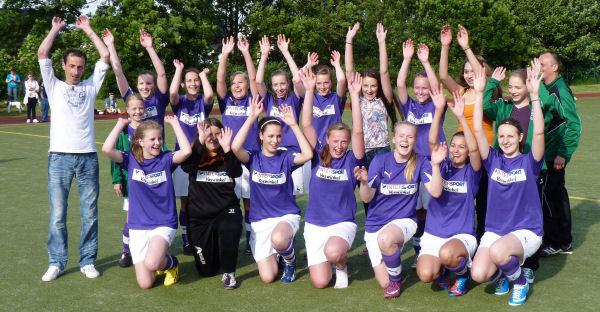 So sehen Sieger aus! Meister 2012/2013