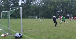 """Goalgetter"" A. Gratzke mit tollem Heber"