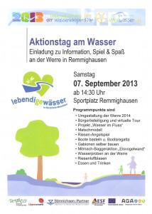 07.09.2013 Aktionstag am Wasser
