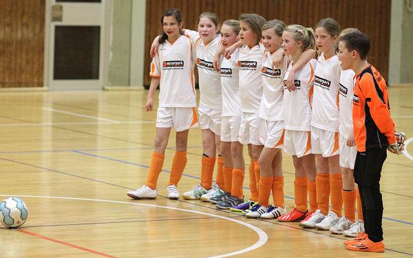 Klasse Team präsentiert Fußball mit Herz und Leidenschaft