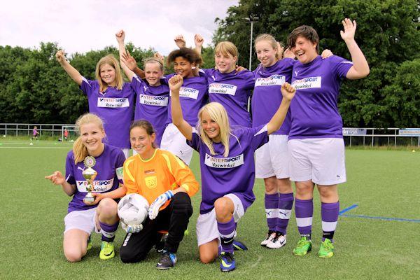 C-Juniorinnen Pokalsieger 2014