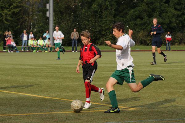 Chancen auf beiden Seiten - trotz der Niederlage ein gutes Spiel der Eichholzer