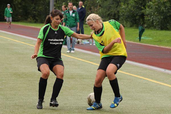 Isabel - viele gute Aktionen und ein Treffer gegen den SV