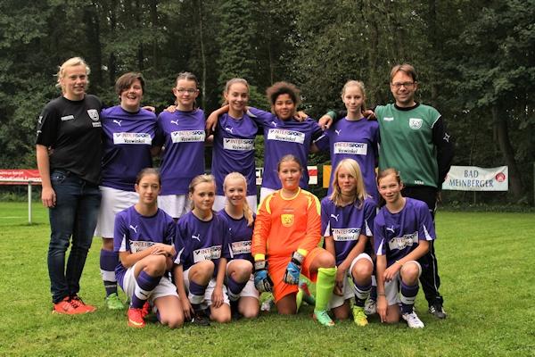 C-Juniorinnen in Vossheide