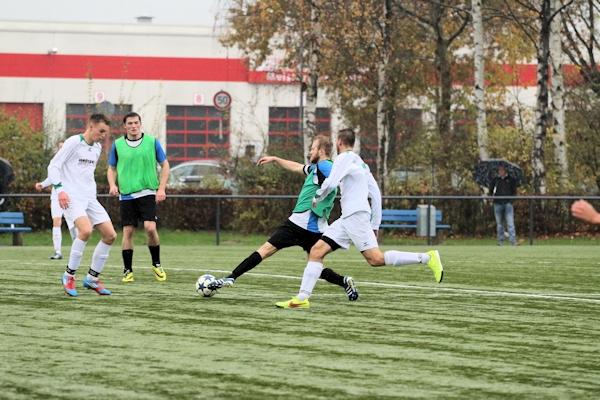Duelle im Mittelfeld - unentschieden mit wechselndem Ausgang