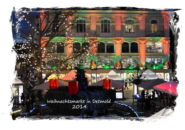 Weihnachten in Detmold