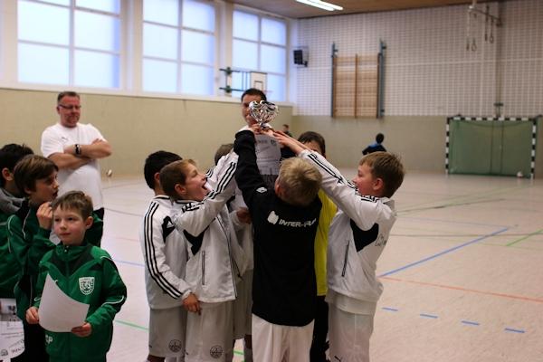 Siegesfeier beim VfL Schildesche
