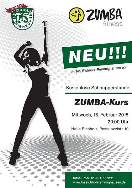 Zumba-Kurs beim TuS Eichholz-Remmighausen