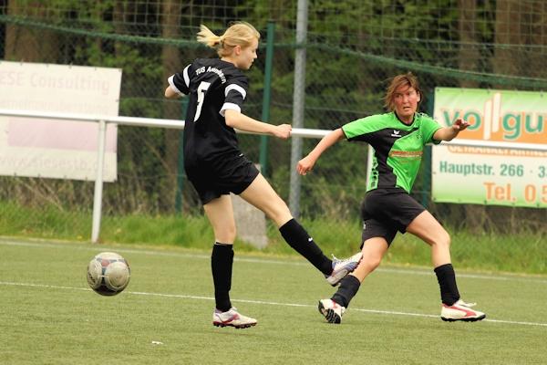 Weitere Größe des lippischen Frauenfußballs reaktiviert - Nicole Schäfermeier