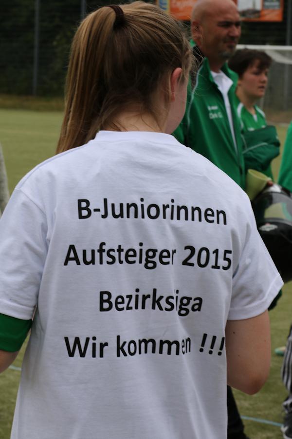 Herzliche Gratulation! Souveräner Aufstieg in die Bezirksliga