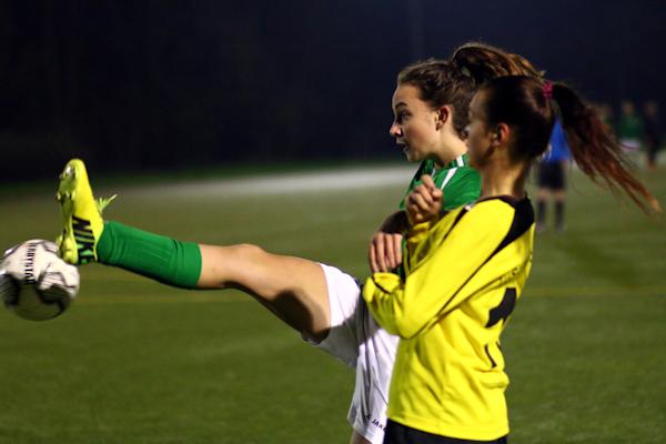 Beste Spielerin auf dem Feld - Hannah M. treibt Grün-Weiß immer wieder an