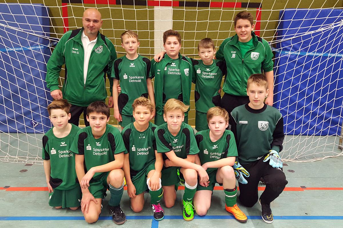 D-Junioren feiern Gruppensieg in Augustdorf