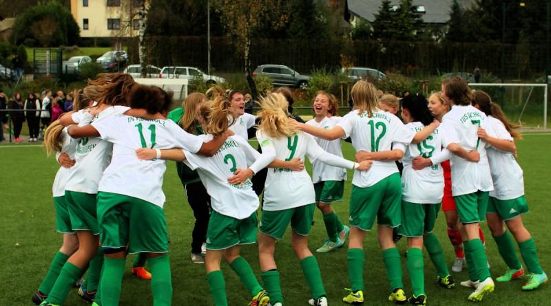 Team Grün-Weiß nach dem Kreispokalsieg