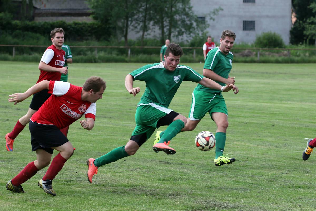 Noah Cardoso - Was für ein Debüt! Zwei Treffer für Grün-Weiß II