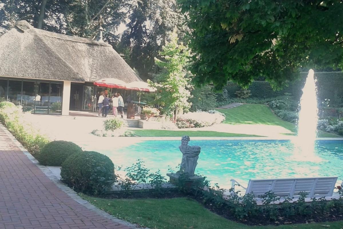 Der Pool war schon sehr verlockend ;-)
