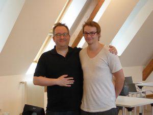 Oliver Schulte und Andy Himpenmacher, die Lippischen Blitzmeister 2016