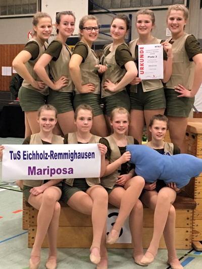 """Mariposa - 3. Platz, Jugend """"Masters"""" - mit dem Tanz """"Camping"""""""