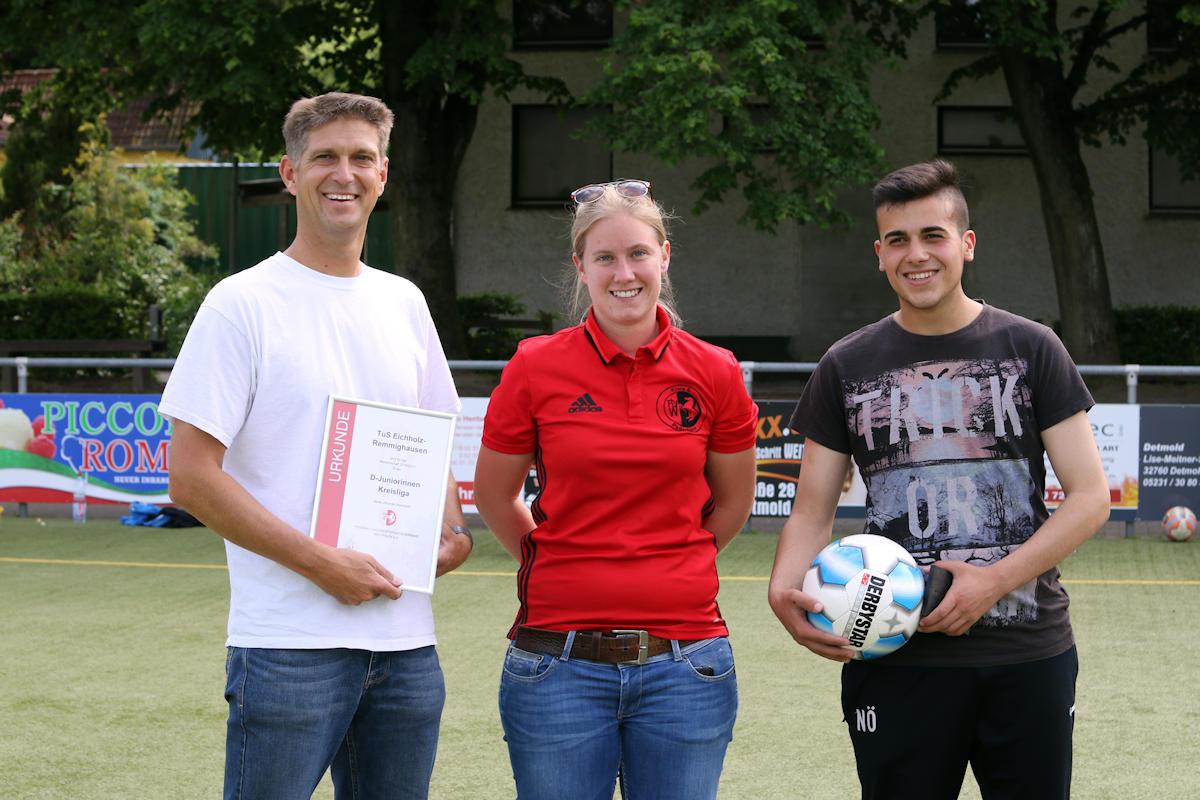 Katharina Kolle mit Andreas und Naroz