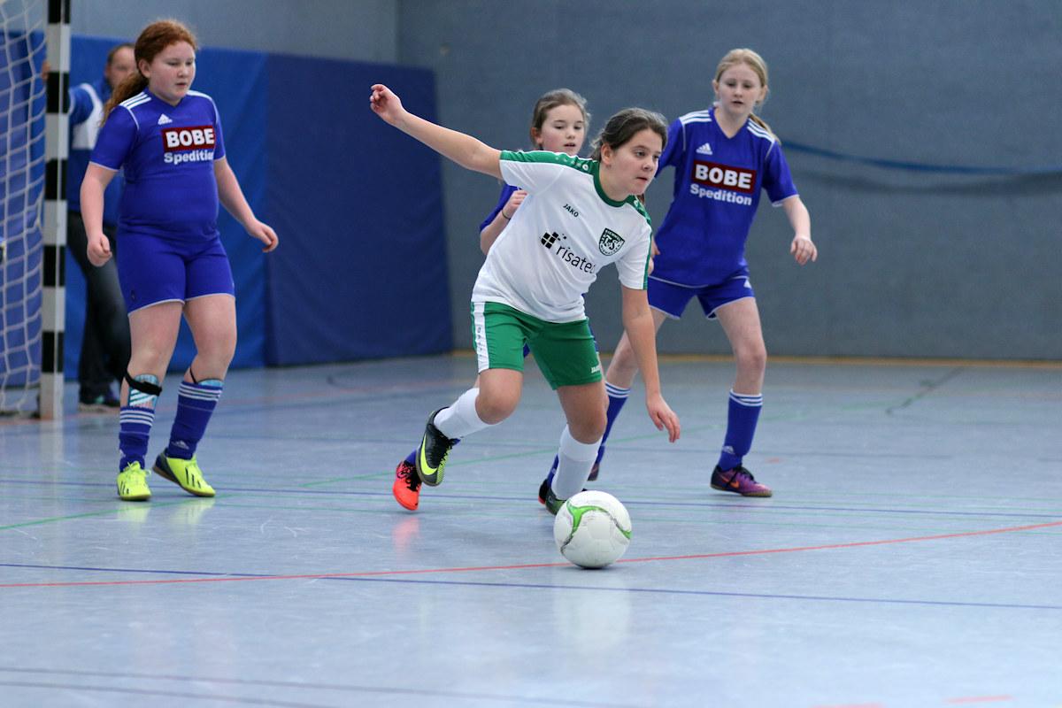 D-Juniorinnen Zweiter Platz in Barntrup