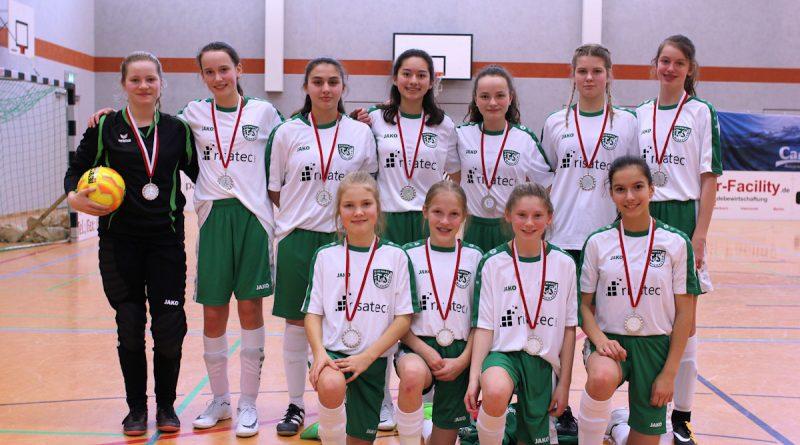 C-Juniorinnen Zweiter Platz