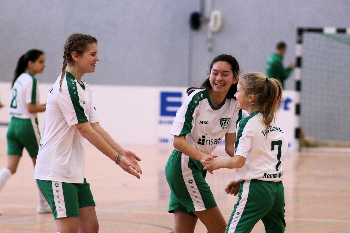 Klasse Stimmung und Freude im Team