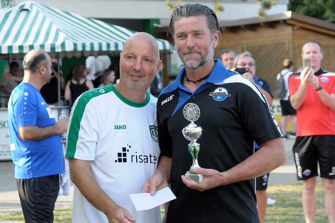 Die gute Turnierleistung des SC Paderborn wurde nit dem dritten Platz belohnt.